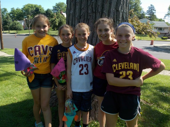 Thanks to the CAVS  for a great season.  We enjoyed watching you & celebrating with Cavs Dress Down Days!  You made us proud!